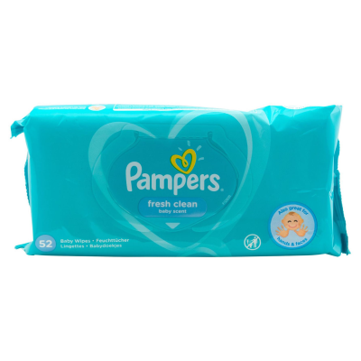 Pampers Baby Wipes Fresh Clean Boots £1.00 52s
