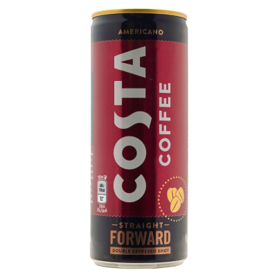 Costa OOC Coffee Americano Can Ready To Drink RRP £1.99 **Vat Free** 250ml