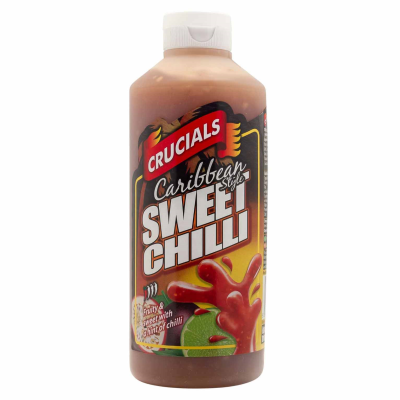 Crucials #05 Caribbean Sweet Chilli RRP £1.49 500ml