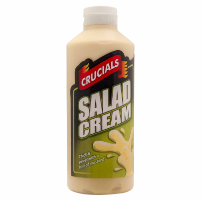 Crucials Salad Cream #05 RRP £1.49 500ml