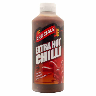 Crucials #5 Extra Hot Chilli Squeezy Sauce RRP £1.49 500ml